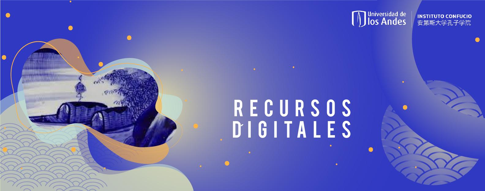 Banner Recursos Digitales Azul