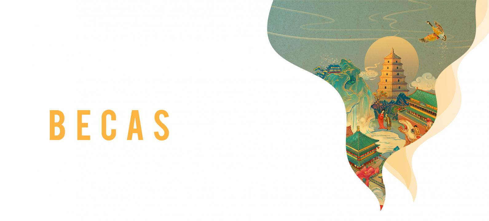 Banner Becas Instituto Confucio China Uniandes