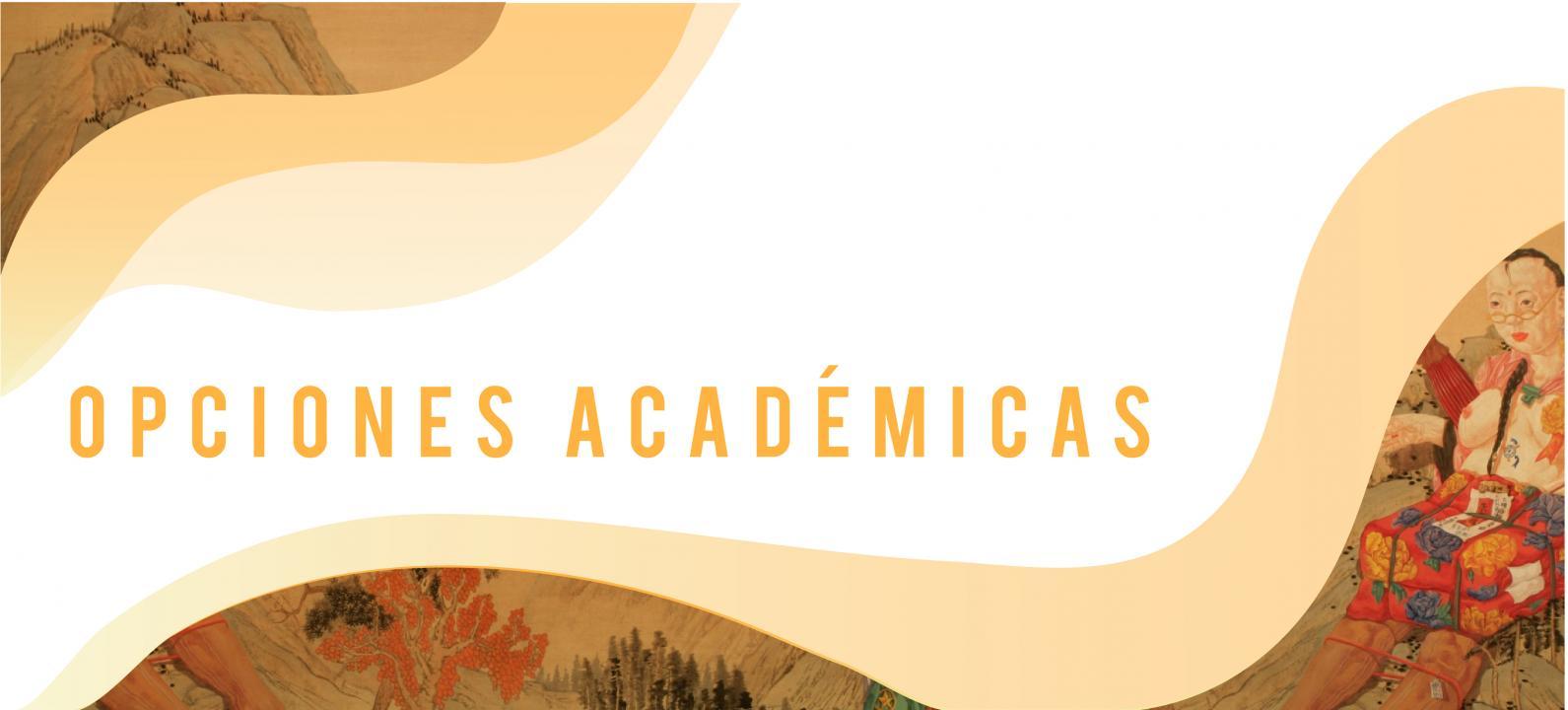 Banner Opciones Académicas